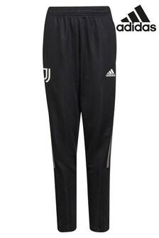 adidas Black Juventus Kids Training Joggers