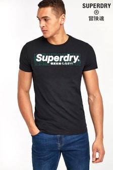 Superdry Black T-Shirt