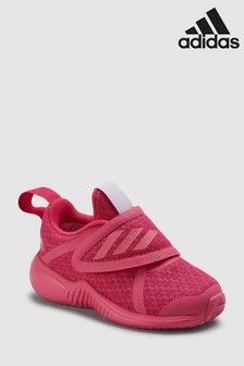 Baskets adidas Run FortaRun X à scratch enfant