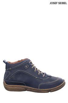 Josef Seibel Blue Neele Leather Boots