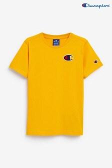 Champion Youth Yellow T-Shirt