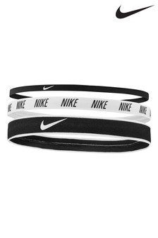 Nike Black Mix Headbands Three Pack