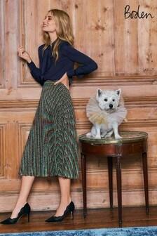 Boden Blue Beatrice Skirt