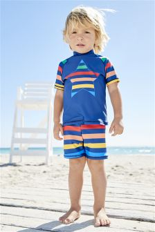Star Rainbow Sunsafe Two Piece Set (3mths-6yrs)