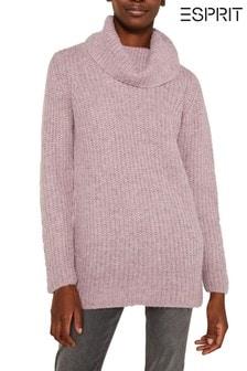 Esprit Purple Long Sleeved Sweater