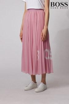 BOSS Purple Tiplissee Skirt