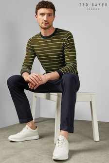 Ted Baker Sammei Slim Fit Textured Trousers