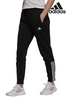 adidas Black Double Knit Joggers