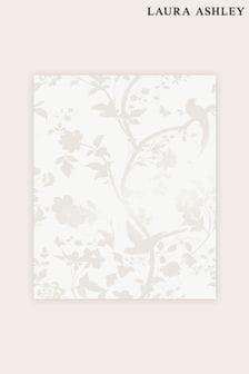 Laura Ashley Oriental Garden Pearlescent Wallpaper Sample