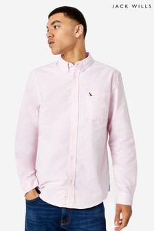 Jack Wills Pink Wadsworth Oxford Shirt