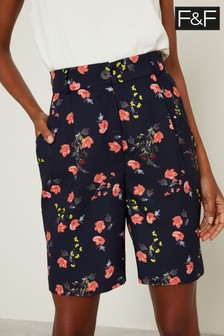 F&F Multi Ground Floral Shorts