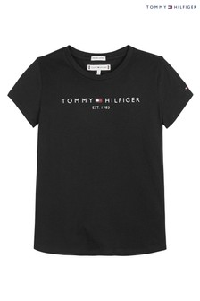 Tommy Hilfiger Black Essential T-Shirt