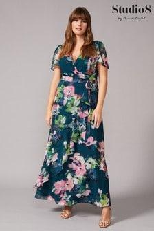 Studio 8 Green Cailyn Floral Maxi Dress