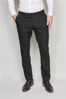 Wool Blend Tuxedo Suit: Taped Trousers