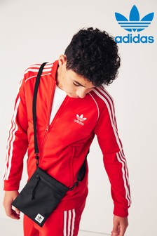 adidas Originals Red Superstar Track Top