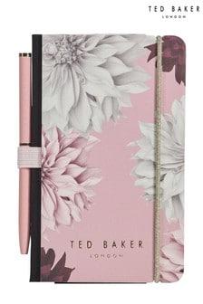 Ted Baker A7 Floral Notebook & Pen Set