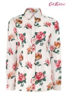 Cath Kidston® Cream Chiswick Rose Shirt