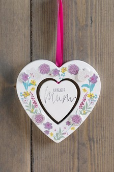 Mother's Day Loveliest Mum Hanging Decoration