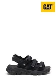 CAT® Black Progressor Buckle Sandals