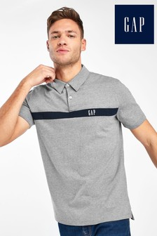 Gap Grey Logo Polo