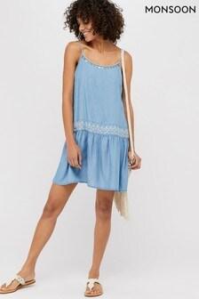 Monsoon Blue Peri Sun Dress
