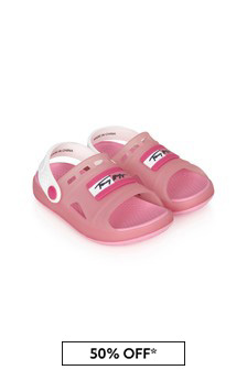 Tommy Hilfiger Girls Pink Sandals