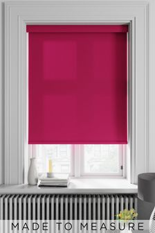 Asher Burgundy Purple Made To Measure Roller Blind