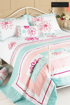 Harriet Floral Bedspread by Riva Home