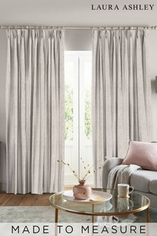 Laura Ashley Whinfell Natural Made to Measure Curtains