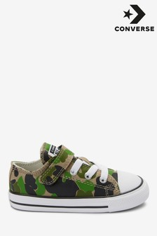 Converse Infant Camo Velcro Trainers