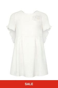 Charabia Girls Ivory Dress