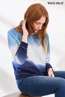 White Stuff Denim Cotton Sweater