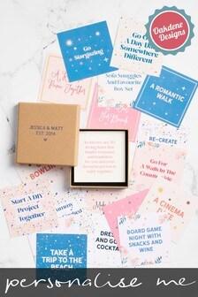 Personalised Date Night Ideas Gift Set by Oakdene