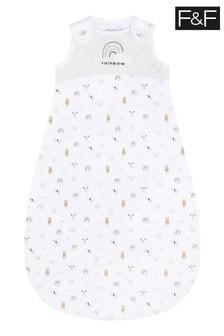 F&F Unisex Rainbow Sleep Bag
