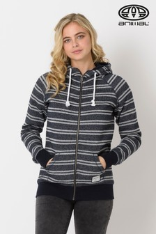 Animal Sky Captain Blue Zip Through Hoody