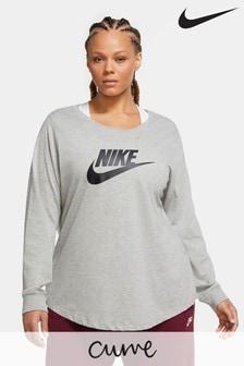 Nike Curve Essential Long Sleeve Futura Tee