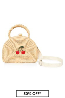 Bonpoint Girls Beige Bag