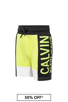 Calvin Klein Jeans Boys Colourblock Shorts