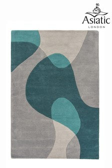 Matrix Abstract Wool Rich Rug by Asiatic Rugs