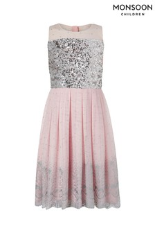 Monsoon Pink Josephine Dress