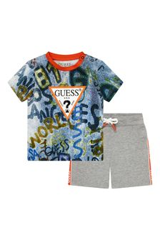 Guess Baby Boys Multi Cotton Set
