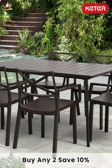 Cast Iron feel Dining Set by Keter