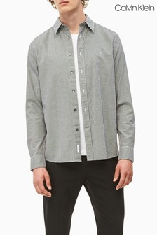 Calvin Klein Grey Mini Gingham Shirt