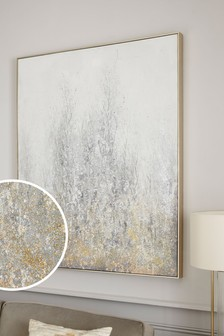 Glitter Abstract Canvas