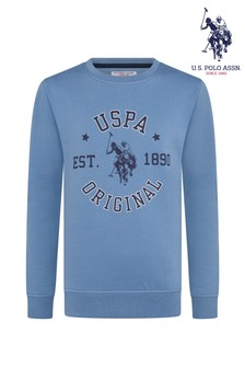 U.S. Polo Assn. Club House Crew Sweatshirt