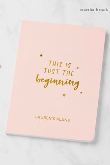 Personalised The Beginning Notebook by Martha Brook