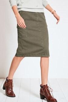 Utility Midi Skirt