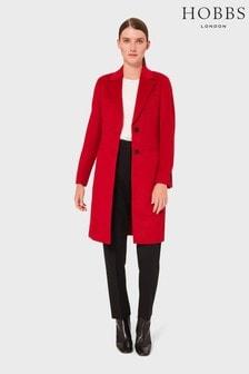 Hobbs Red Petite Tilda Coat