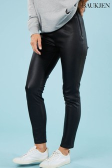 Baukjen Black Lauren Leather Leggings