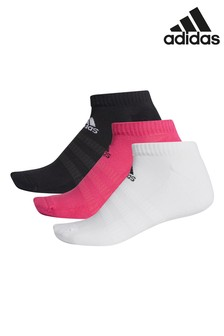 adidas Cushioned Low Cut 3 Pack Socks
